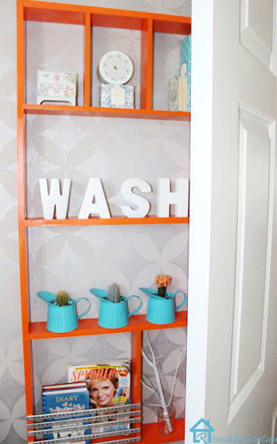 how to make a shelf for behind the wall
