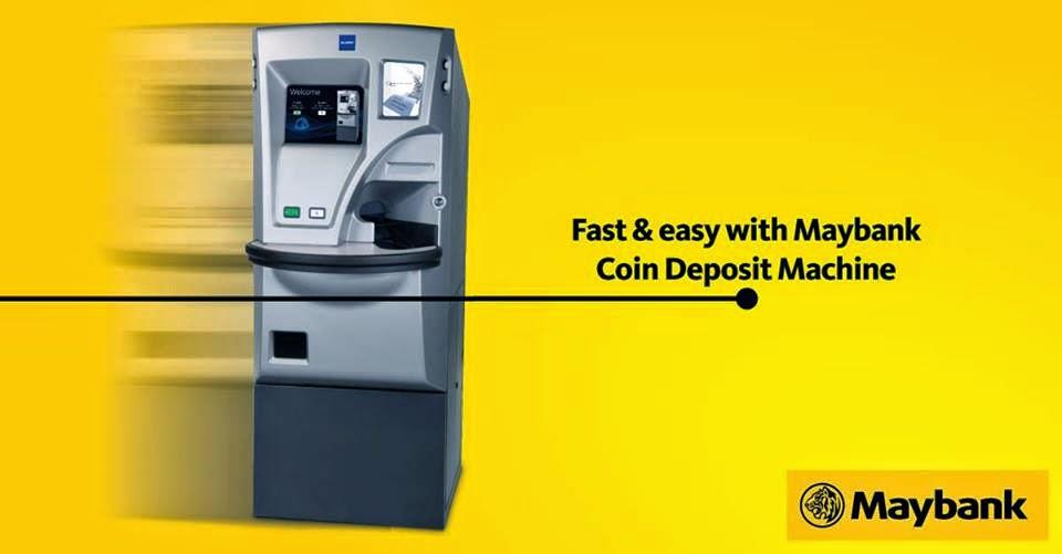 Maybank Mesin Deposit Syiling