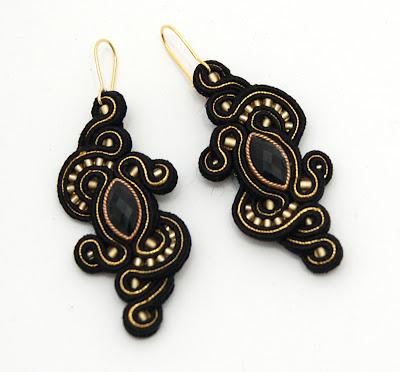 kolczyki sutasz soutache earrings 51