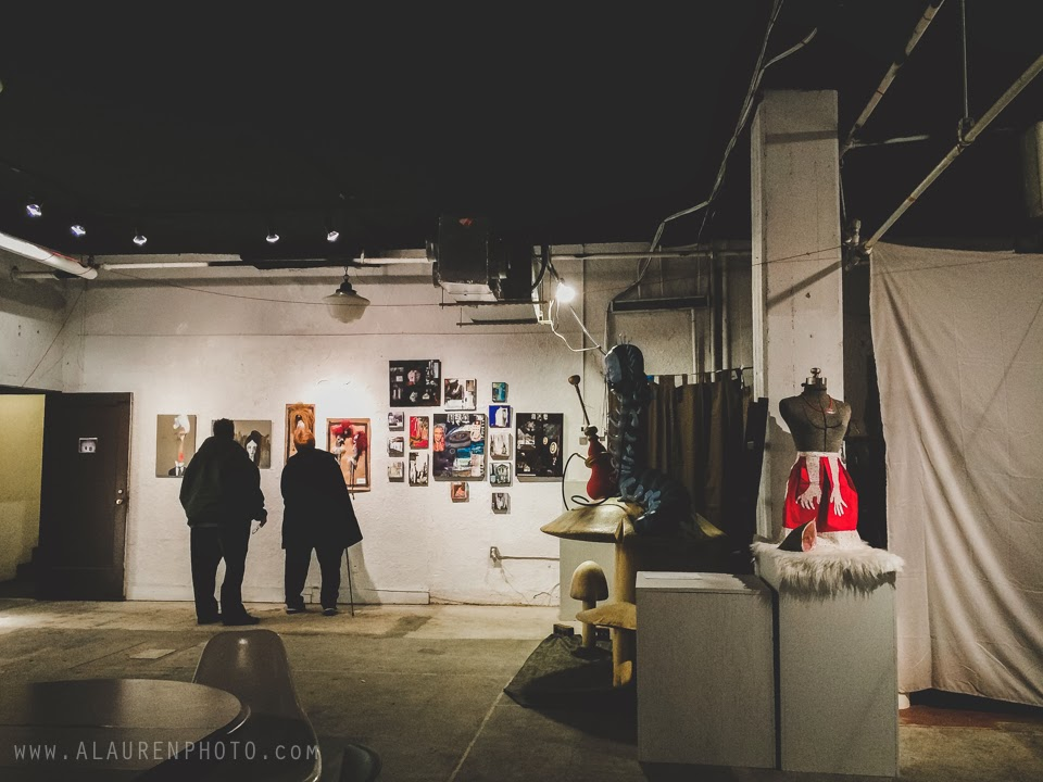 indy indie artist colony's monsters, myth, & mayhem exhibit