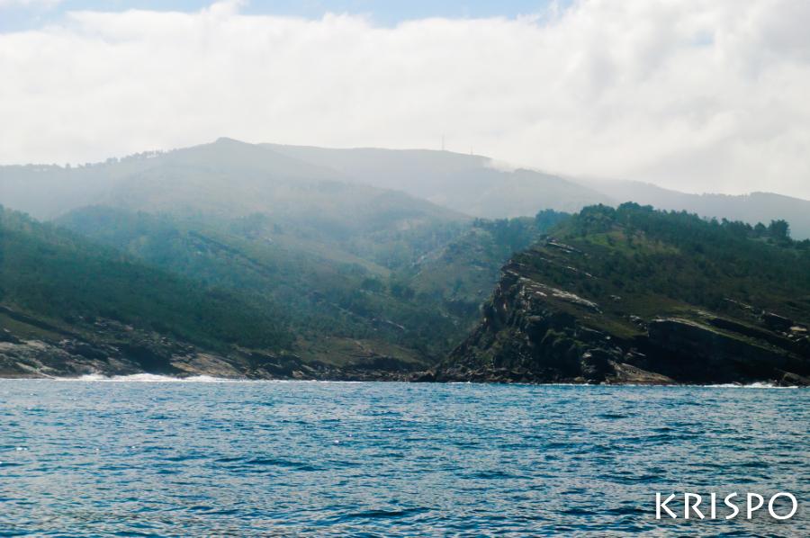 costa de jaizkibel desde el mar