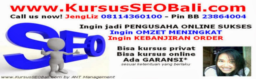 KURSUS ONLINE MARKETING | BELAJAR SEO DI BALI