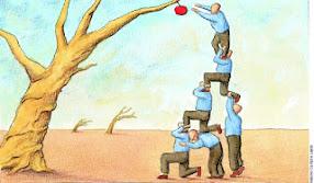 Quando trabalha-se em equipe é possível alcançar todos os objetivos.