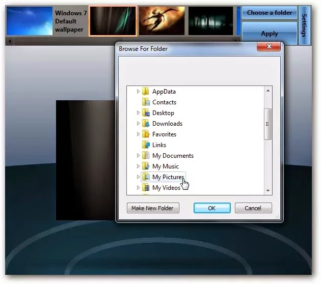 Cara Mengubah Background Logon Screen Windows 7
