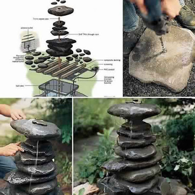 16 Simply Beautiful DIY Projects with Stone ans Rocks
