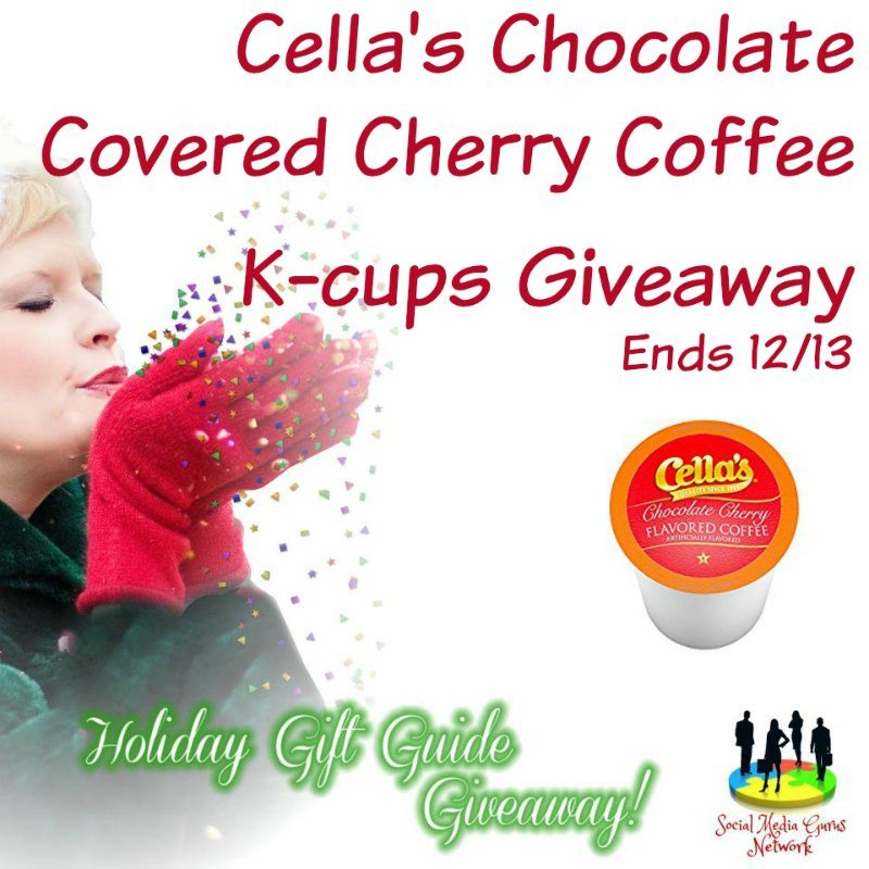 Cella's Chocolate Kcup Coffee Giveaway