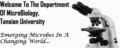Welcome To the Department of microbiology Tansian University