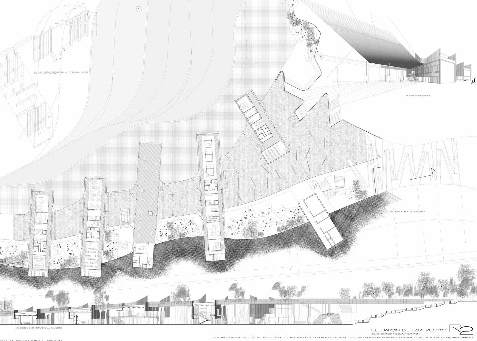 Arquitectura dise o pfc el jard n del viento palermo for En que consiste la arquitectura