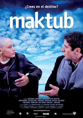 Portada de la película Maktub