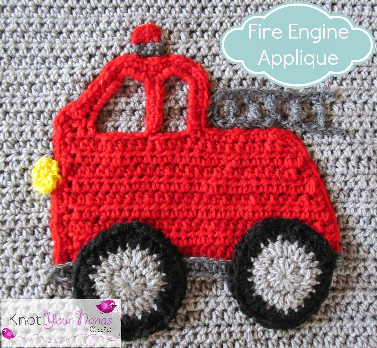 Crochet-Fire-Engine-Applique
