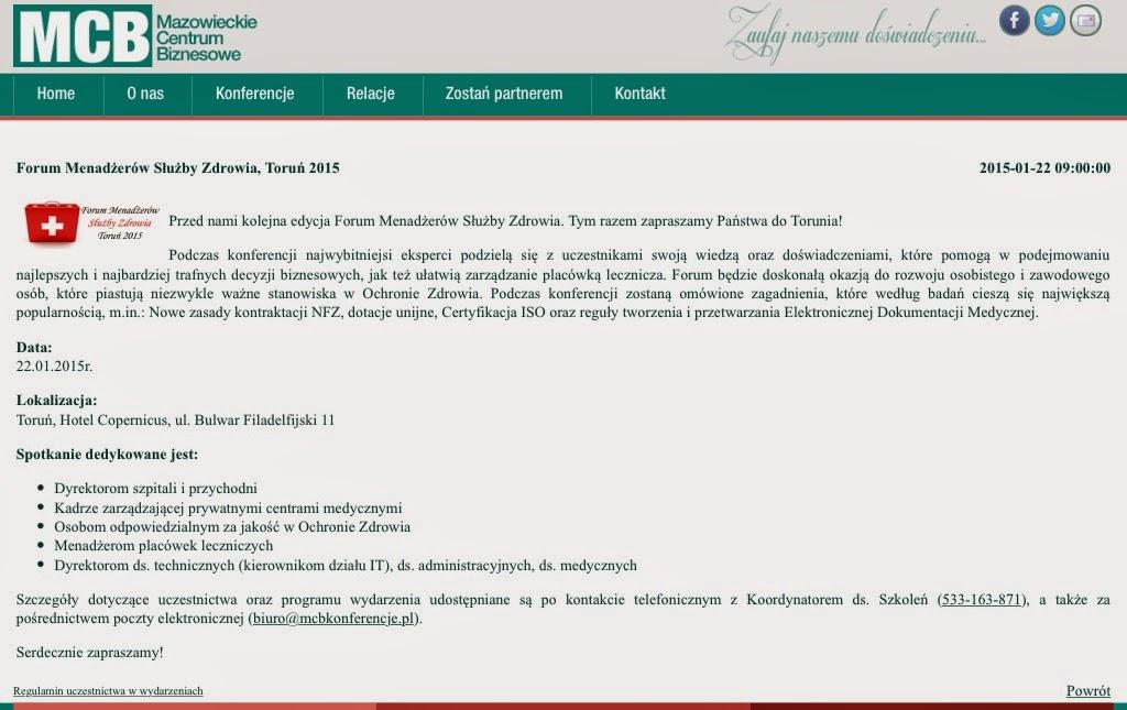 http://www.mcbkonferencje.pl/konferencje;80;1