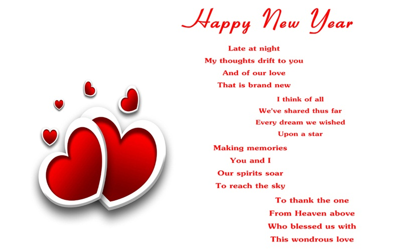 New Year Poems Image