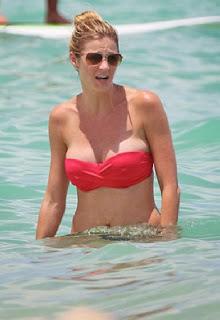 Erin Andrews Red Bikini Miami