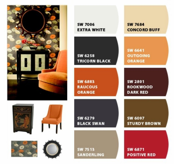 Benny B's Painting: Halloween Color Palette