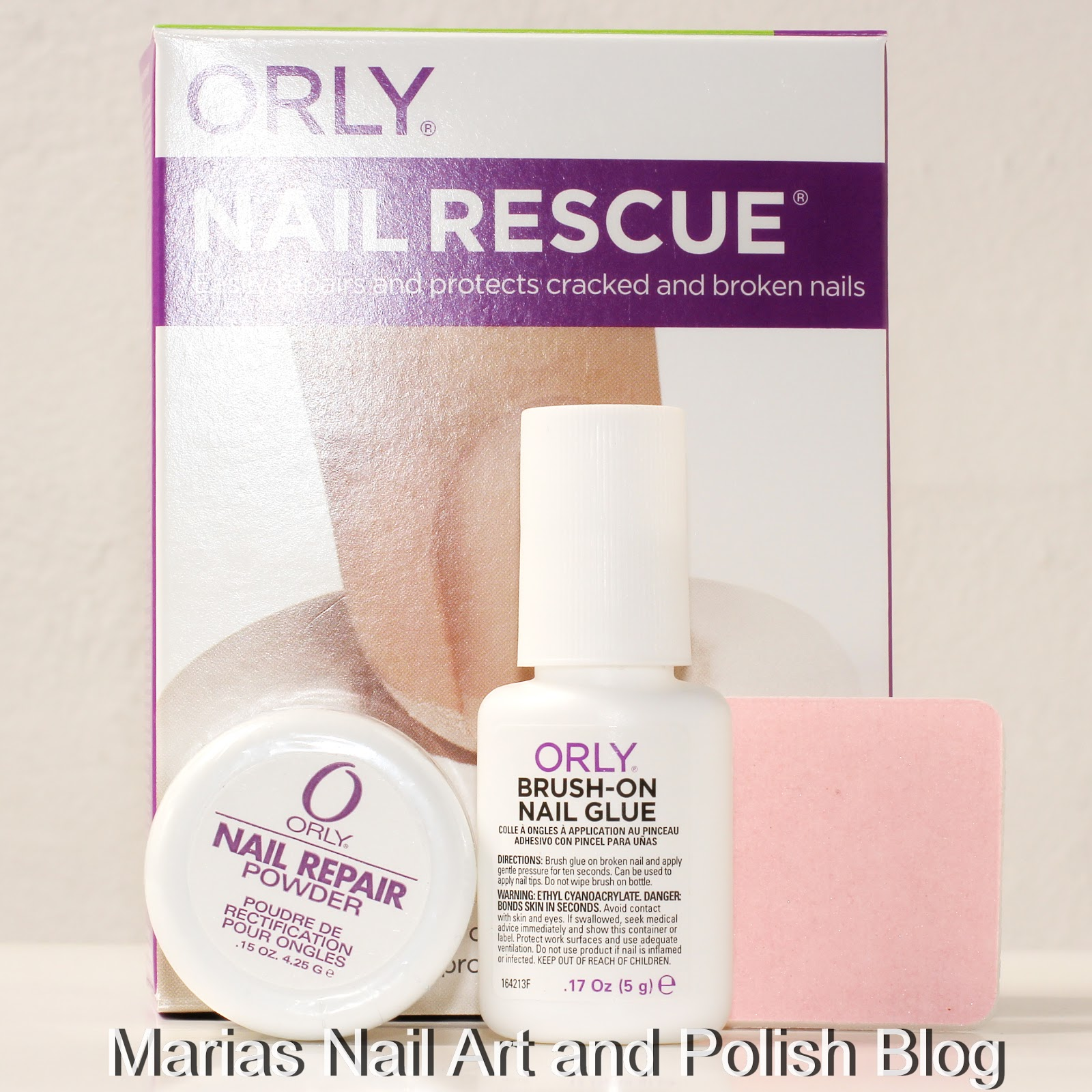 Marias Nail Art And Polish Blog Orly Nail Rescue 1 Months With