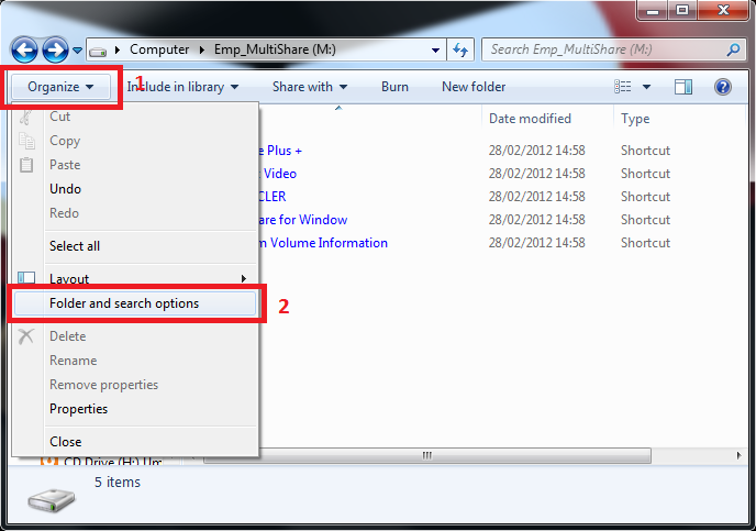 hidden2 Virus Shortcut, File dan Folder Hilang