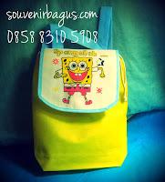 tas ultah gendong murah spongebob