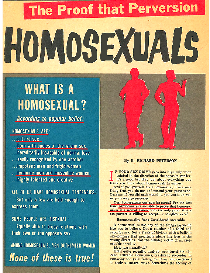 challenges of homosexuals in the 1960's