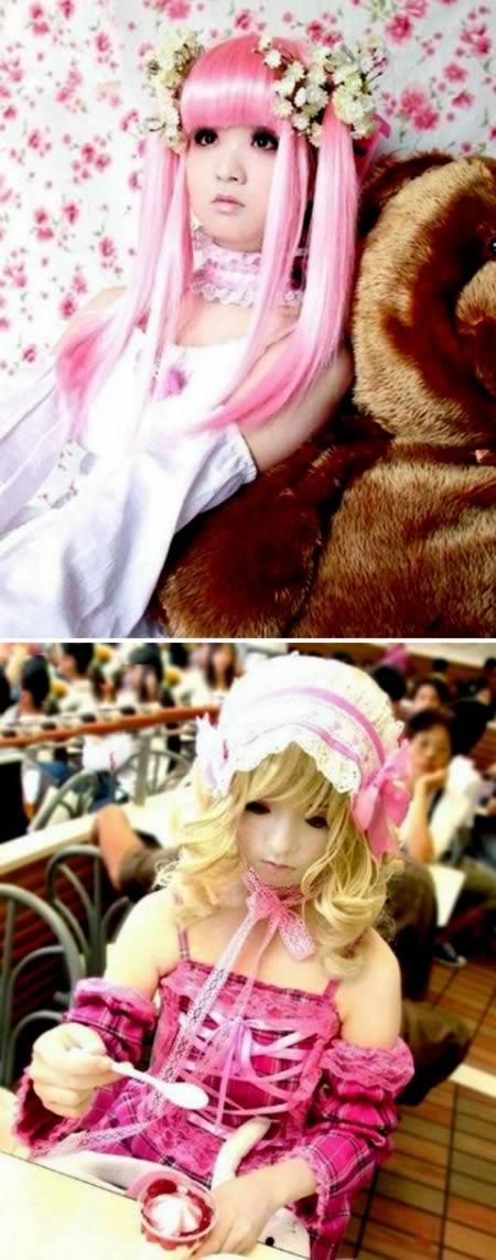 muñeca cosplay