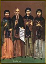 Sfantul Xenofont si familia sa
