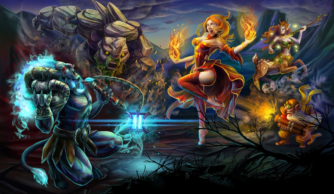 Dota 2 Wallpaper HD WAR
