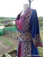 takchitas de tetouan rose bleu