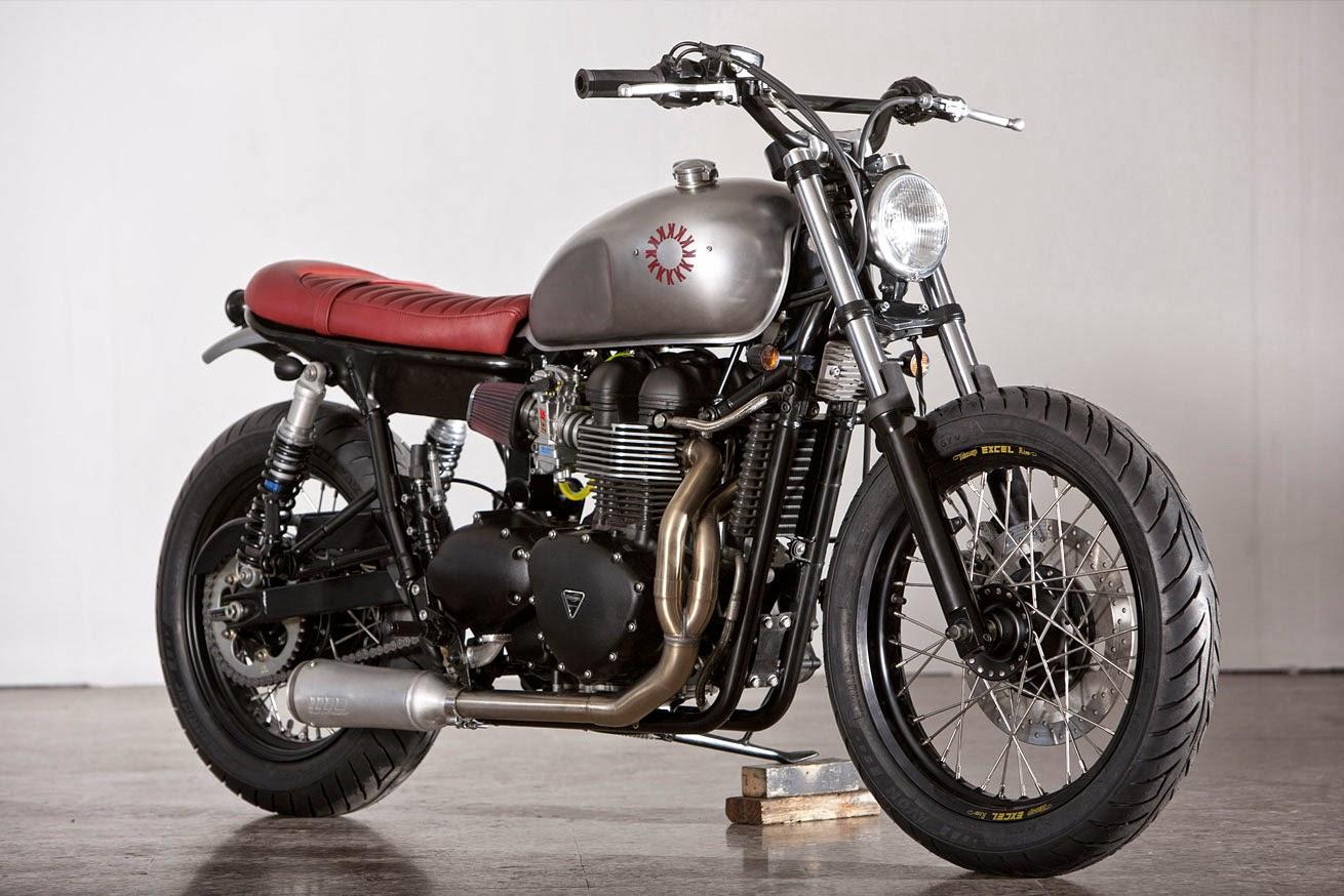 MotoGp: Triumph Bonneville by Kiddo Motors