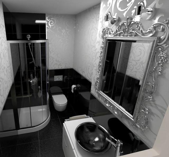 Baño Totalmente Blanco:Aquí tenéis algunas imágenes de cuartos de baño en BLANCO Y NEGRO