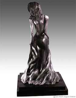 figurative sculptures, realistic woman statue, figurative art