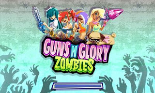 Screenshots of the Guns'n'Glory Zombies for Android tablet, phone.