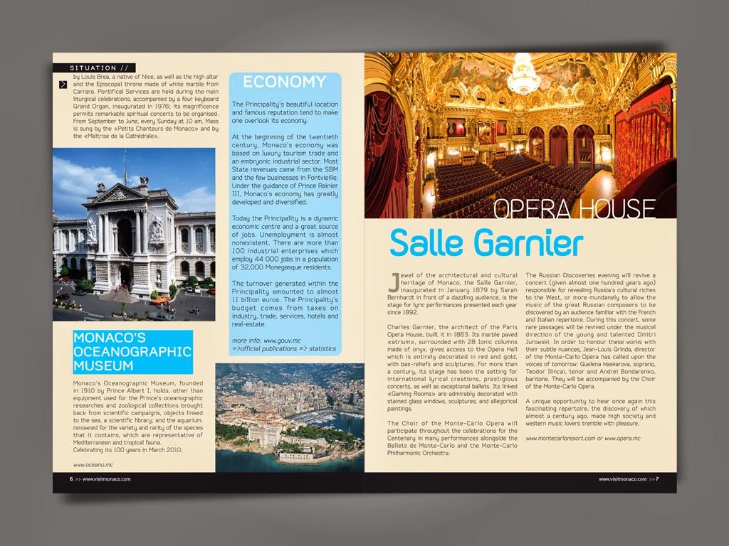 Ifk design graphic designer office du tourisme monaco brochure monaco printemps - Office du tourisme en anglais ...