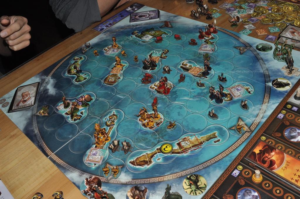 Los amigos de catan juegos de mesa cyclades 2 5 jugadores for Starcraft juego de mesa