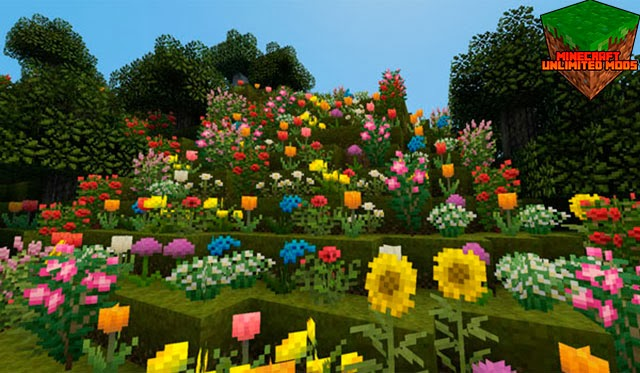 Pixel Reality Texture Pack flores
