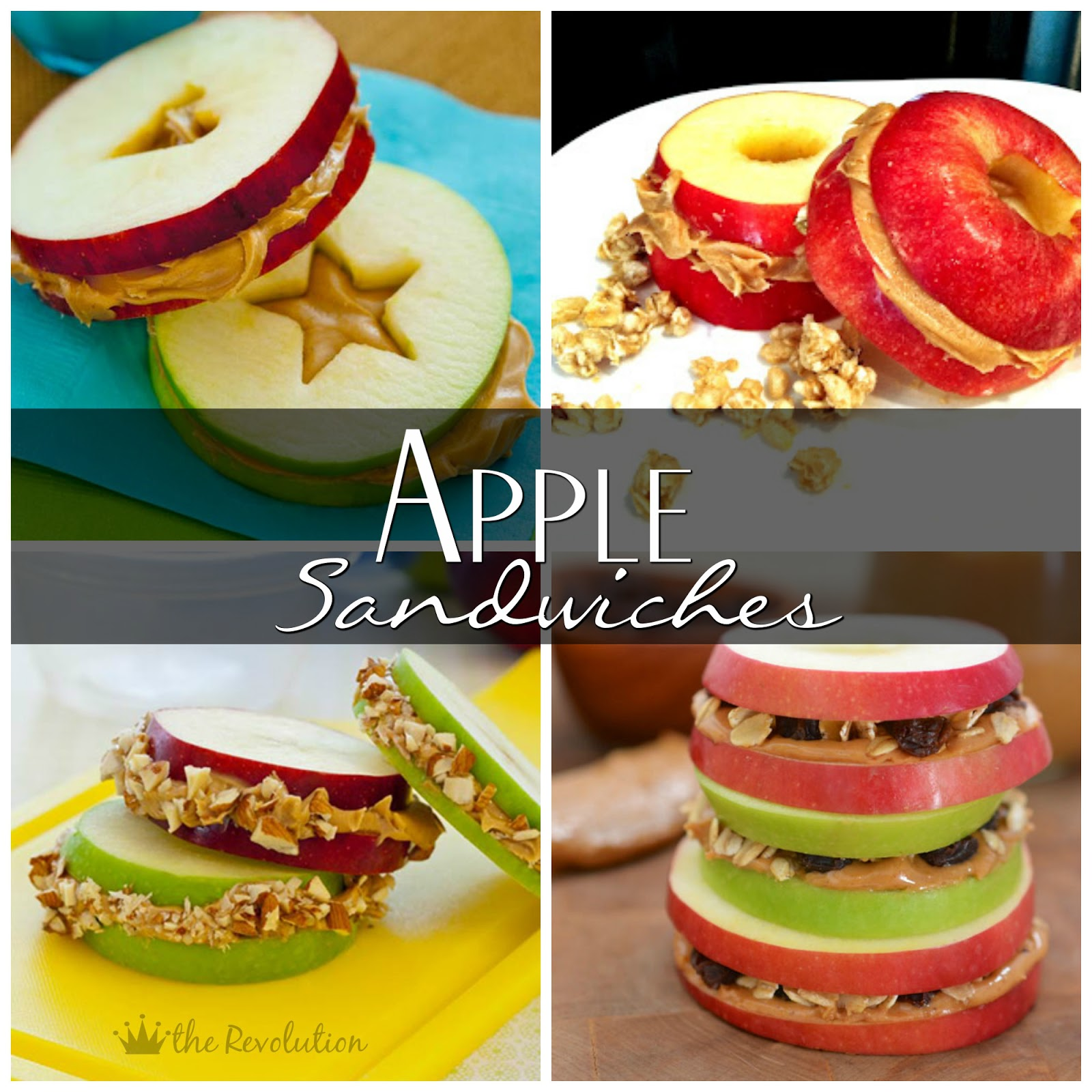 Apple Sandwiches - To Insanity & Back