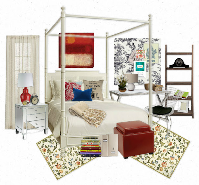 Dorm Room Loft Bed Ladder Ideas