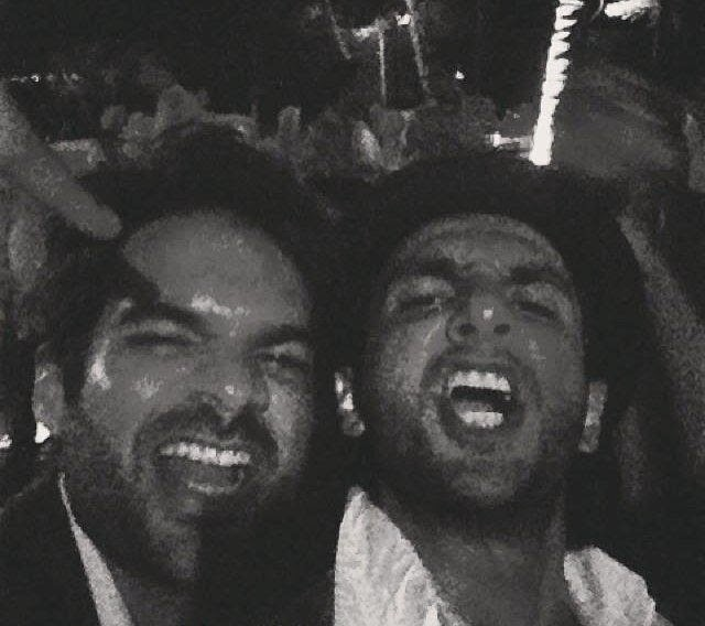 Ranveer Singh and Deepika Paukone at Goa to participate in a wedding ceremony
