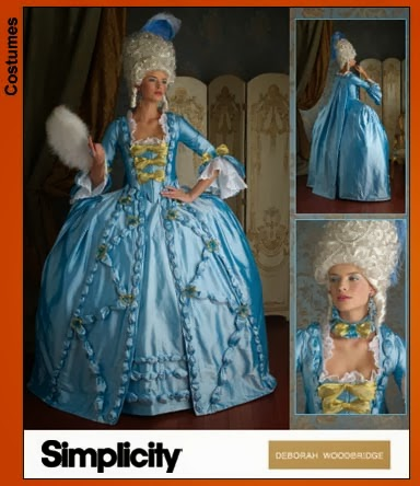 Reading treasure halloween masquerade marie antoinette costume ideas first up where to get your costume if youre the crafty type you may want to look into the following patterns solutioingenieria Gallery