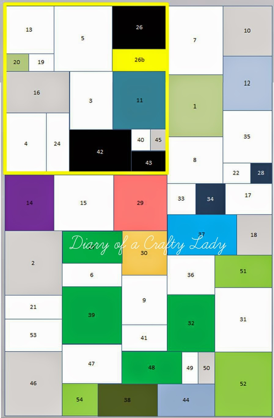 Quilt Pattern With Different Size Blocks : Diary of a Crafty Lady: Making your own T-shirt Quilt