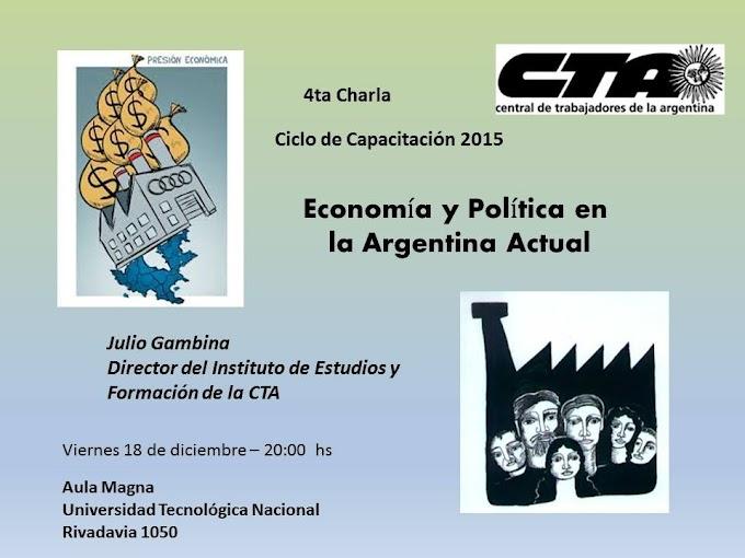 Ciclo de Capacitación en la CTA Tucumán