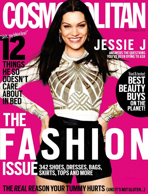 Singer @ Jessie J - Cosmopolitan Australia, September 2015