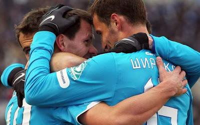Zenit St. Petersburg 1 - 0 Shakthar Donetsk (1)
