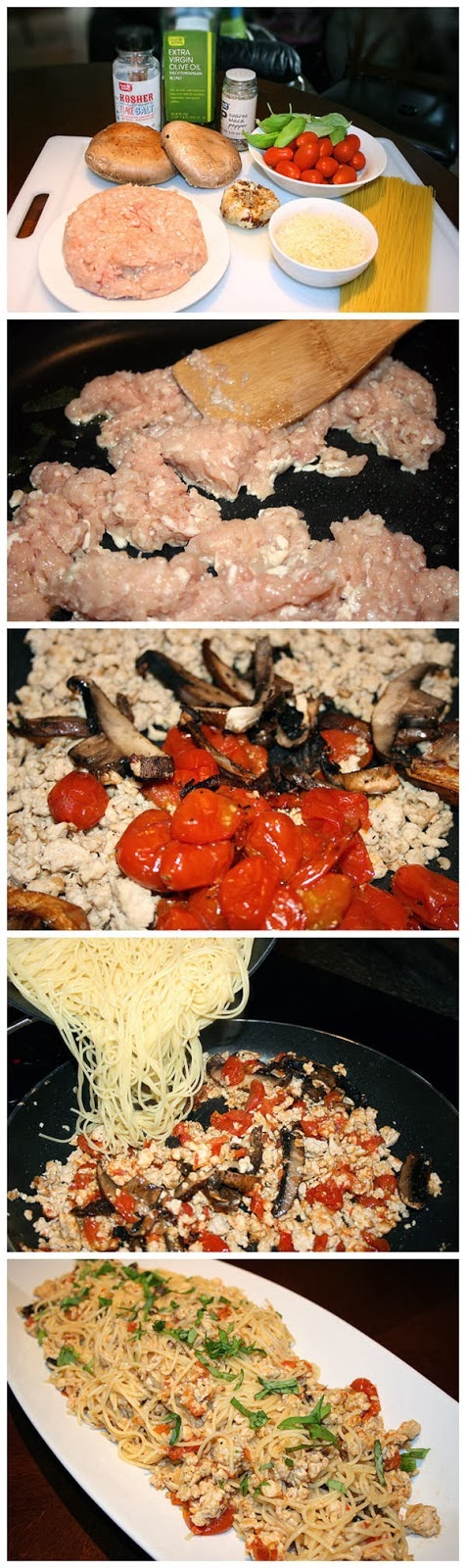 Pasta Toss with Chicken and Roasted Tomatoes
