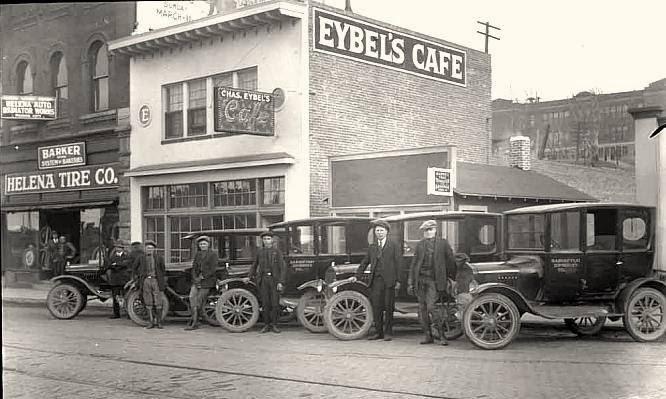 Parada Taxis, EE.UU 1920