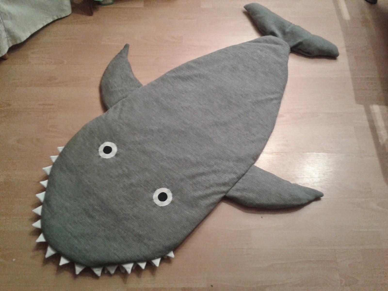 Lieblich Haifisch Schlafsack Von Oben