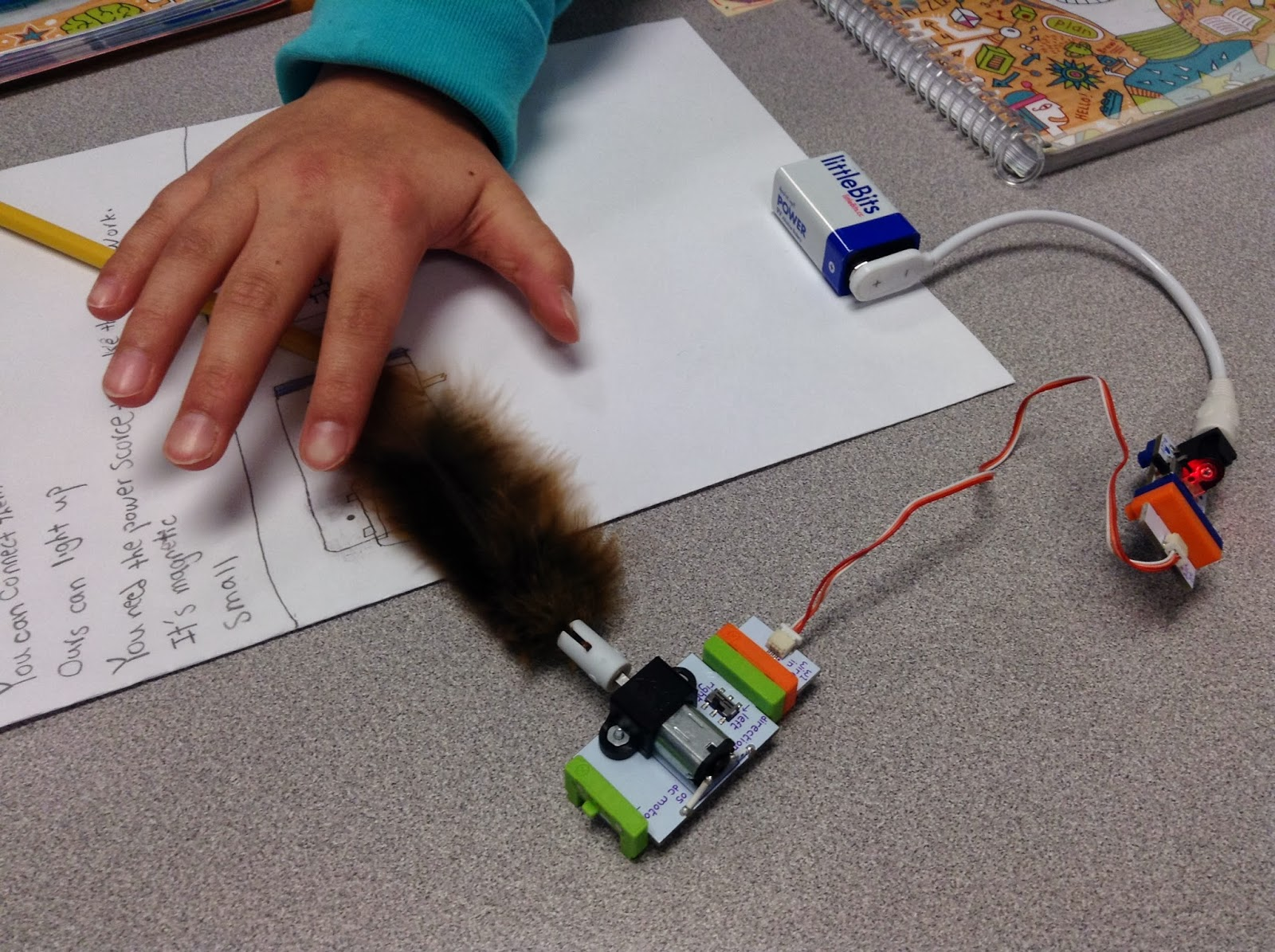 Littlebits Archive Mathematics And Science In Sd38 Richmond Fun Way For Kids To Build Circuits Make Things They Also Began Think About Their Own Projects What Might Like Create With