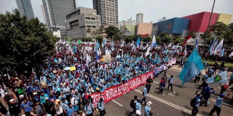 10 Tuntutan Buruh Pada May Day Mendatang