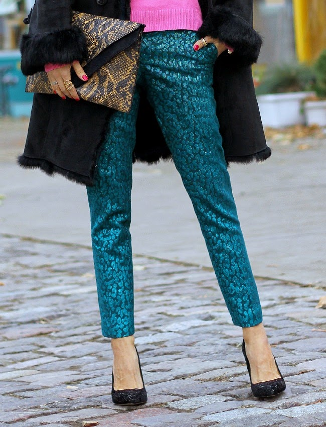jewel-tone pants zara shoes amadeusonthecatwalk