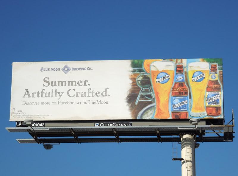 Blue Moon Summer Artfully crafted billboard