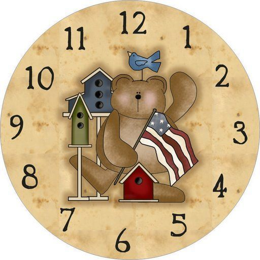 Imagen reloj infantil para imprimir - Imagenes y dibujos para imprimir ...