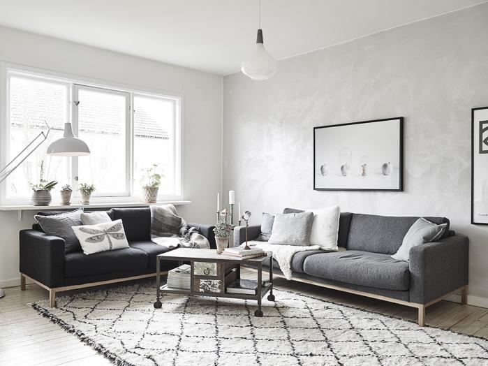 Deco cojines sofa libelula alfombra